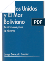 Estados Unidos y El Mar Boliviano