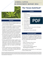 U.S. Cannabis Investment Report 2016