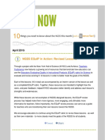 April 2016 NGSS NOW Newsletter