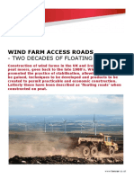 Wind Farm Access Road White Paper