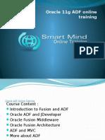 Oracle 11g ADF Online Training