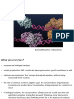 Lecture 11 - Introduction to Enzymes