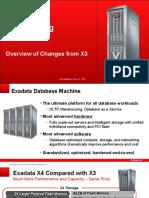 Exadata X4 Changes