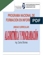 Algoritmica y Programacion Clase I