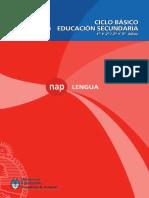 NAP Lengua Ciclo Básico Secundario Argentina