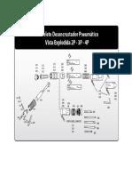 Martelete Desencrustador Pnematico 3p