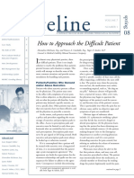 How to Approach the Difficult Patient