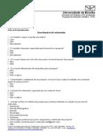 Questionário Do Orientador Edital 2016