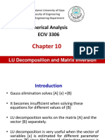 Ch10 LU Decomposition 21