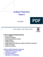 Analisis Financiero - Indicadores