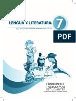 Cuaderno de Trabajo Literatura 7mo