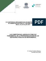 Xvi Conferencia Iberoamiericana de Ministros de Administracion Publica y Reforma Del Estado-2014