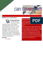 marino-american government newsletter
