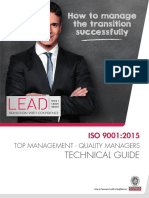 Technical Guide - IsO 9001 2015