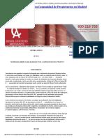 Dictamen o Informe Juridico Sobre Usurpacion Espacio en Plaza de Garaje
