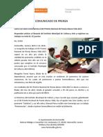04-03-16 Cierra con éxito convocatoria sl XIV premio nacional de poesía Alonso Vidal 2015. C-22416