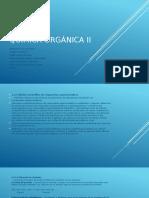 Química Orgánica II Obtencion de Alcoholes
