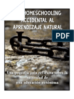 De Home Schooler Accidental al aprendizaje natural