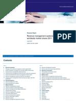 Analysys Mason RM Market Shares Jul2012 RMA03 ToC