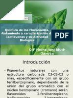 Química de Los Flavonoides, Aislamiento y Caracterización