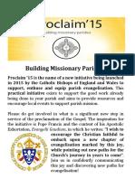 Proclaim - Activities