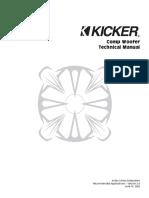 Kicker Comp Woofer 2002 Technical Manual v2.0