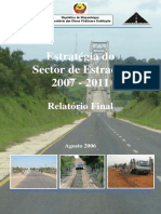 1Estrategia Do Sector de Estradas 2007-2011