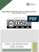 KNN Ventajas y Desventajas-knn