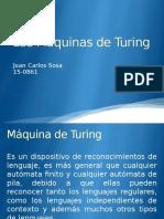 Las Máquinas de Turing