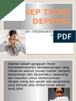 Konsep Teori Depresi by Trisnawati p Samper