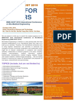 Call for Paper BME-HUST 2016