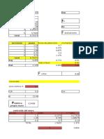 Tabla de Excel Mononobe