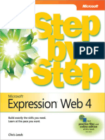 Microsoft Expression Web 4 Step by Step