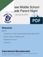 north view parent night