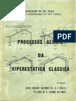 Processos Gerais Da Hiperestática Clássica - Cap IV Parte 1a