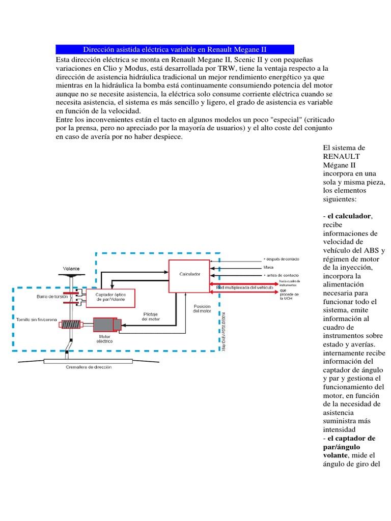 Renault Dieccion Elec. Variable