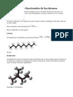 Grupos Funcionales de Los Átomos y Carbohidratos