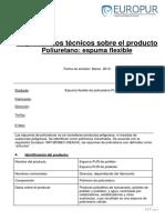 datos de seguridad y propiedades de la espuma.pdf