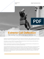 Extreme Call Deflection