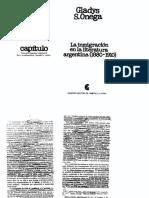 Onega Gladys - La inmigración en la literatura argentina (Cap. 5 y 6).pdf