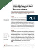 Mecanismos de Ação de Compostos Bioativos