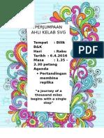 Poster Perjumpaan Svg