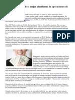 Consejos para elegir el mejor plataforma de operaciones de Forex