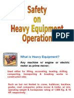 Heavy Equipment Safety