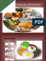 A Importância Dos Alimentos