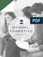 Manual Formativo Para Coordinadorxs - Febrero 2016