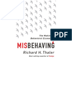 Misbehaving:the Making of Behavioral Economics