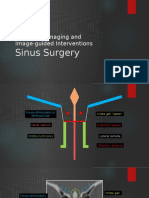 Diagnostic imaging and Image-guided Interventions Sinus Surgery