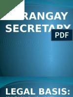 Barangay Secretary