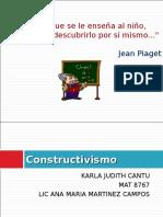 Constructivismo EPISTEMOLOGIA